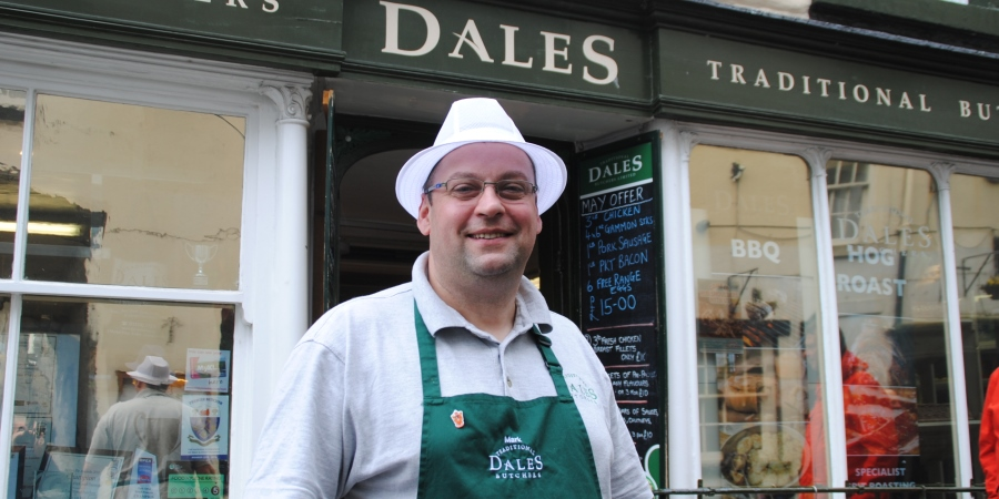 Dales Traditional Butchers raises £325 for Girl Guides through UK Sausage Week