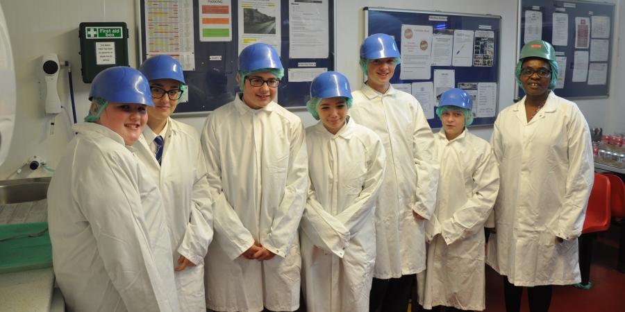 Butcher's shop welcomes students ahead of UK Sausage Week