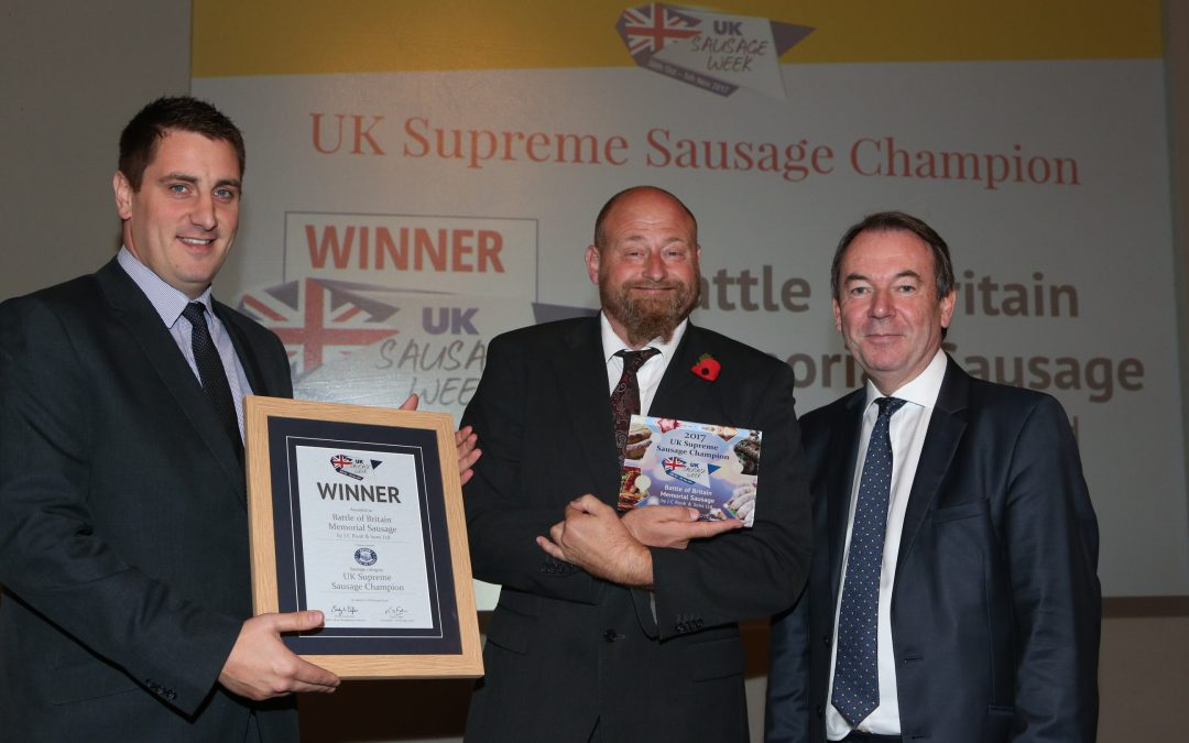 The story behind UK Sausage Week's champion sausage