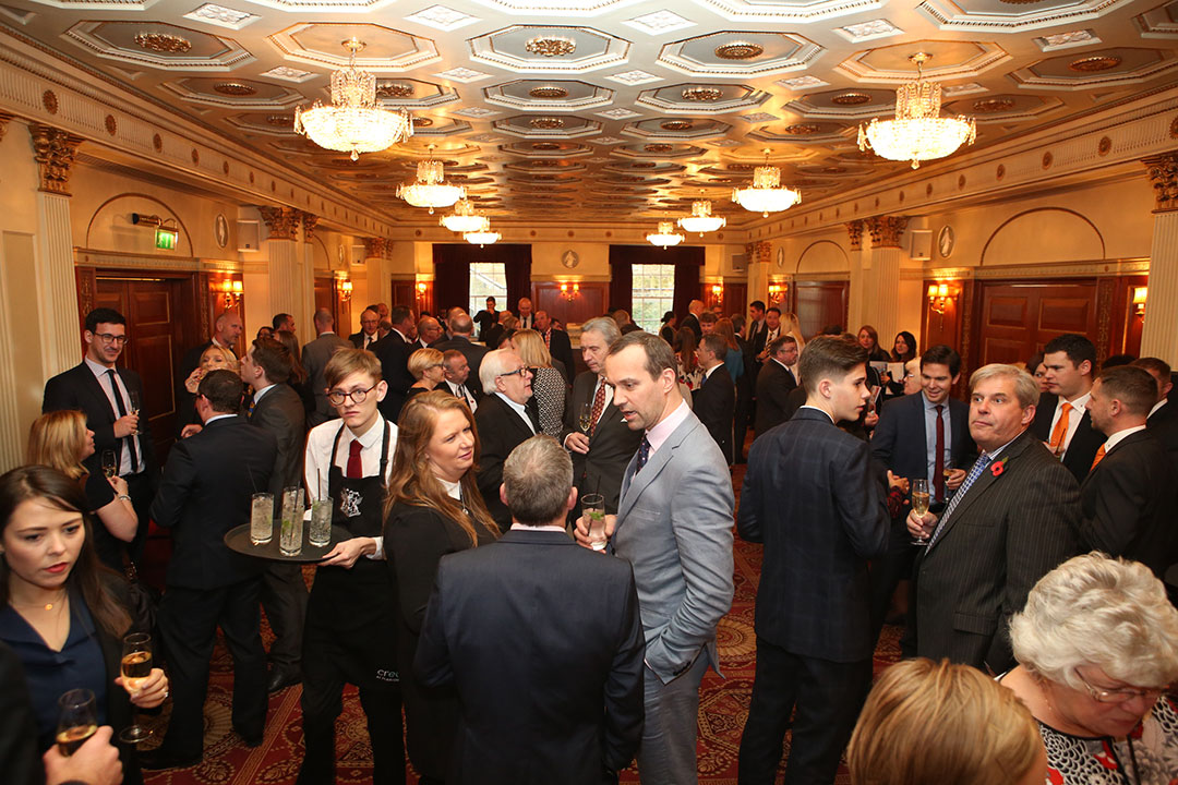 The drinks reception.
