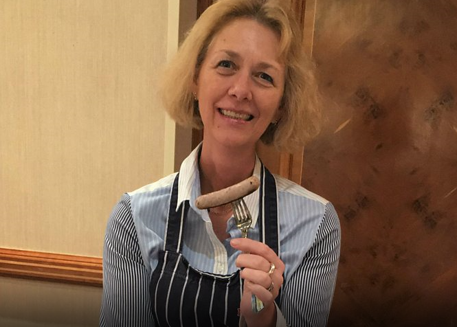 UK Sausage Week judge Claire Holland interviewed on BBC Radio 2