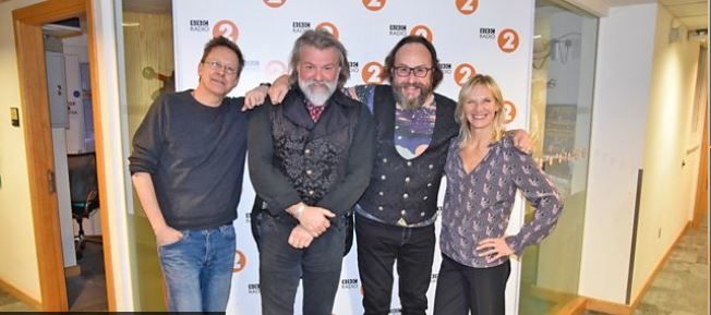 Jo Whiley, Simon Mayo and The Hairy Bikers celebrate UK Sausage Week