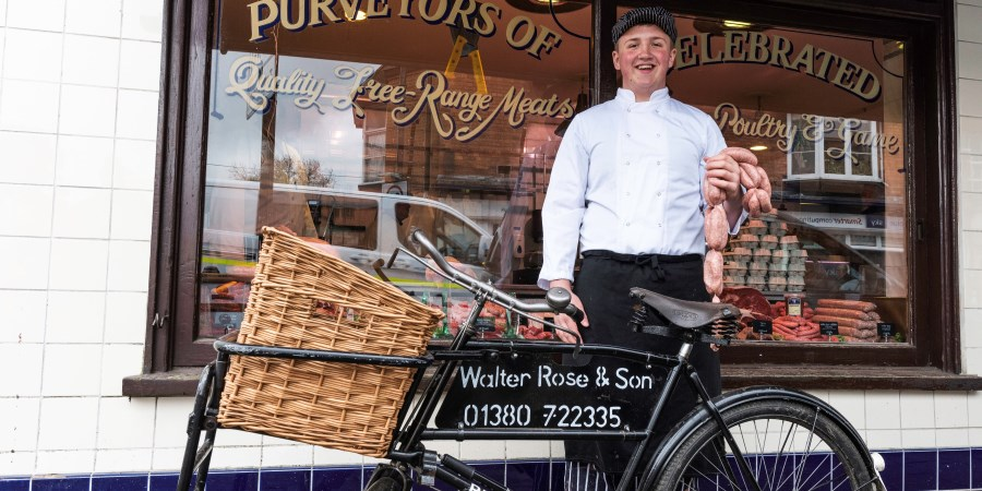 Walter Rose & Son's Winter Warmer bangers help charity