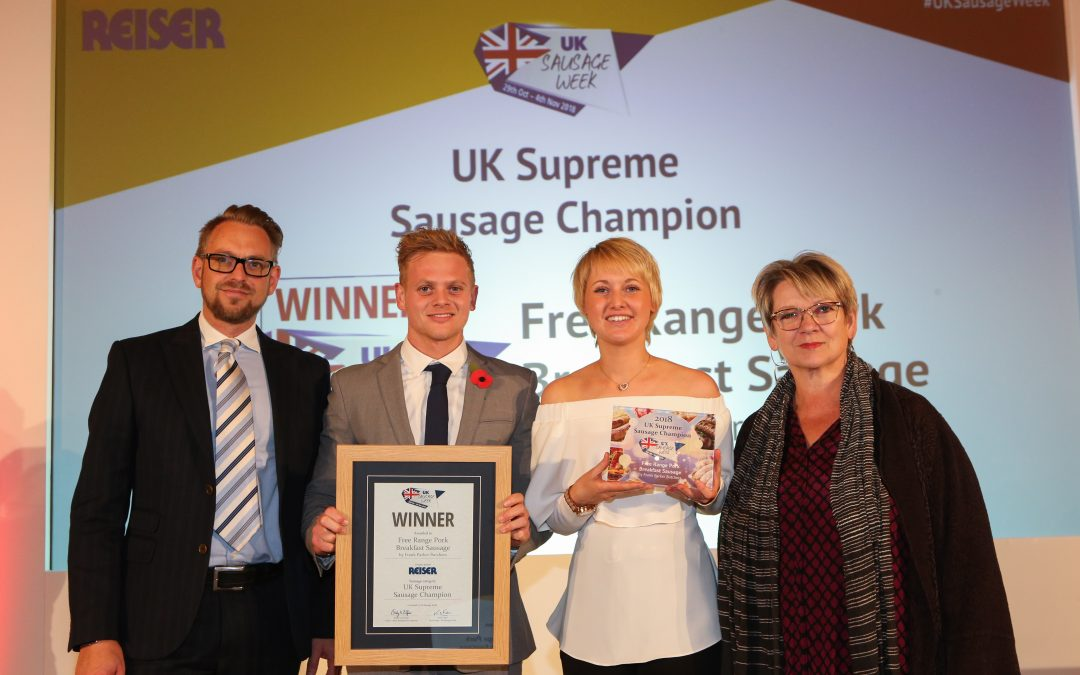 A whirlwind winning week for Frank Parker Butchers