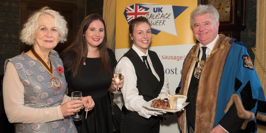 Worshipful Company of Butchers enjoy 'sausagetastic' lunch
