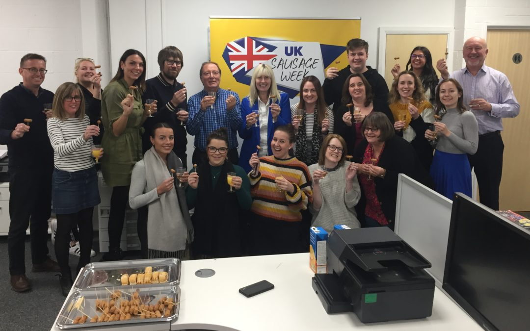 Meat Management team celebrates UK Sausage Week